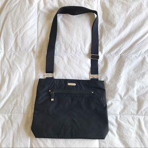 NWOT BAGGALINI Black Nylon Crossbody Bag